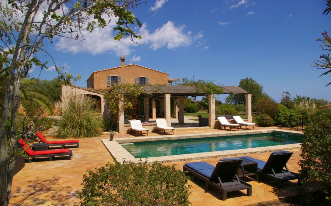 Finca Mallorca nahe Santanyi zum mieten