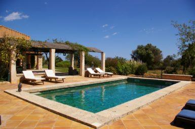 Pool der Finca Son Cosme Pons