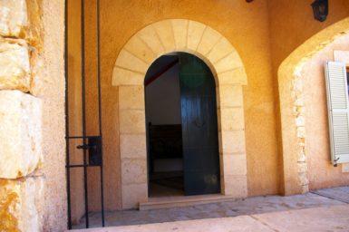 Eingang in die Finca Son Cosme Pons