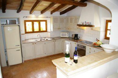 Küche mit Spülmaschine Son Cosme Pons