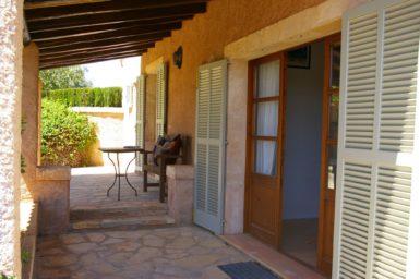 Überdachte Terrasse vom Gästehaus