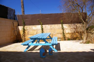 Finca Mallorca Patio am Poolbereich