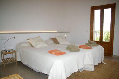 Schlafzimmer mit OG mit Bad en Suite