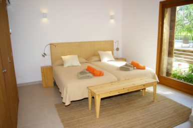 Schlafzimmer im EG im neuen Bereich