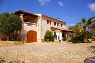 Finca Mallorca nahe der Cala Sanau zum mieten