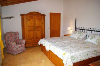 Finca Cas Mungi Vell - Schlafzimmer mit Klimaanlage