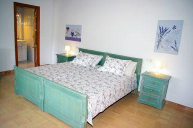 Finca Cas Mungi Vell - Schlafzimmer mit Doppelbett