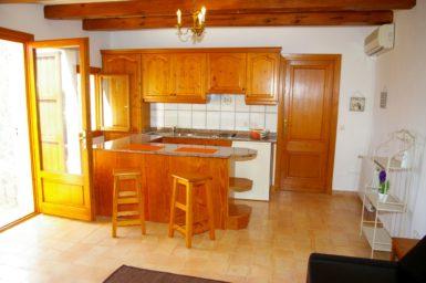 Finca Cas Mungi Vell - Küche in der Gästewohnung