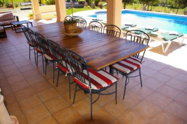 Finca Sa Bassa Seca - Esstisch für 10 Personen