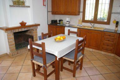 Finca Sa Bassa Seca - Essplatz in der Küche