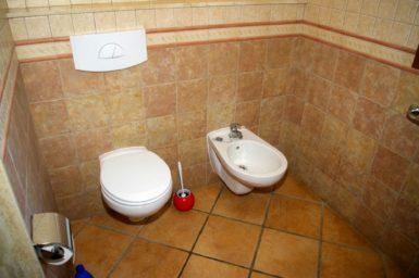 Finca Sa Bassa Seca - Bad mit WC und Bidet im EG