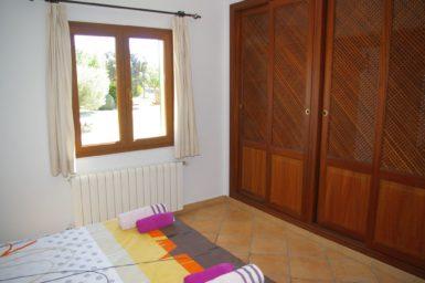 Finca Sa Bassa Seca - Schlafzimmer mit Klimaanlage