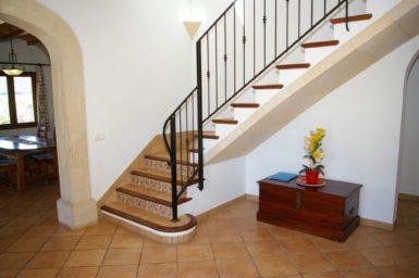 Treppenaufgang Finca Sa Bassa Seca