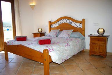 Finca Sa Bassa Seca - Schlafzimmer mit Doppelbett