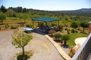 Finca Sa Bassa Seca - Blick in den Garten