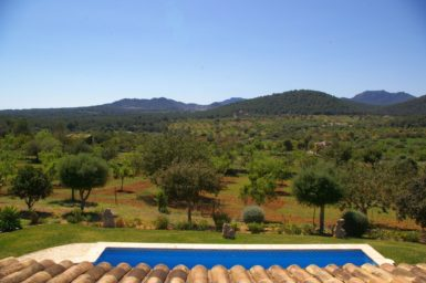 Finca Sa Bassa Seca - Ausblick übers Land