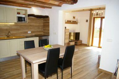 Finca Ses Donardes - Durchgang zum Wohnbereich