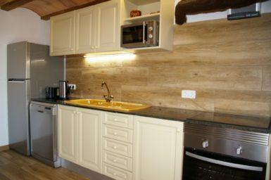 Finca Ses Donardes - voll ausgestattete Küche