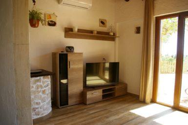 Finca Ses Donardes - Wohnbereich mit Sat_TV