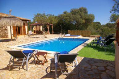 Finca Ses Donardes - Pool 7x4 meter