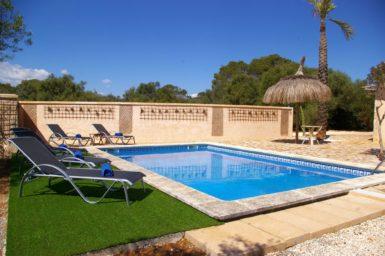 Finca Ses Donardes - Pool mit Poolterrasse