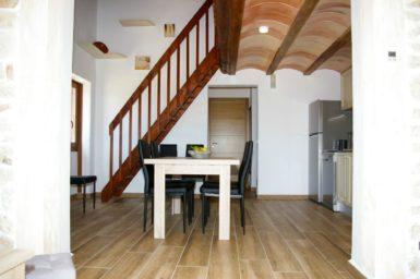 Finca Ses Donardes - Treppe zum Schlafplatz OG