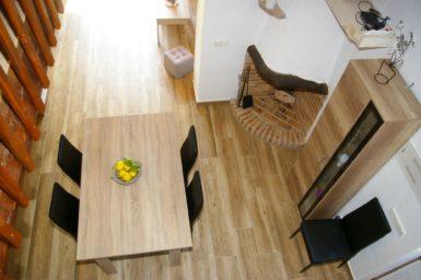 Finca Ses Donardes - Blick vom OG auf Esszimmer