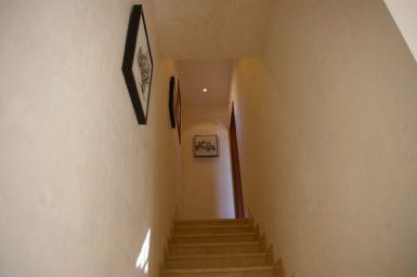 Aufgang zum Schlafzimmer ins Obergeschoss