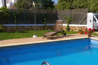 Ferienhaus Hector - Außendusche am Pool