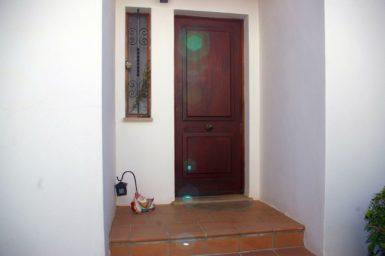Ferienhaus Hector - Eingang