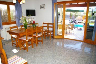 Ferienhaus Hector - Zugang auf die Terrasse