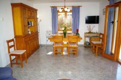 Ferienhaus Hector - Essbereich