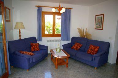 Ferienhaus Hector - gemütliche Couch