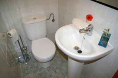 Ferienhaus Hector - Gäste WC