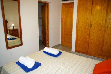 Ferienhaus Hector - Schlafzimmer mit Bad en Suite