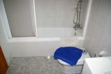 Ferienhaus Hector - Bad mit Badewanne im EG