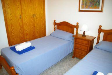 Ferienhaus Hector - Schlafzimmer mit OG mit Klima