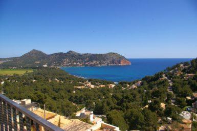 Ferienhaus Mallorca mit Meerblick