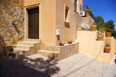 Eingang Ferienhaus Mallorca