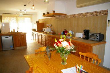 Offene Küche/ Essbereich