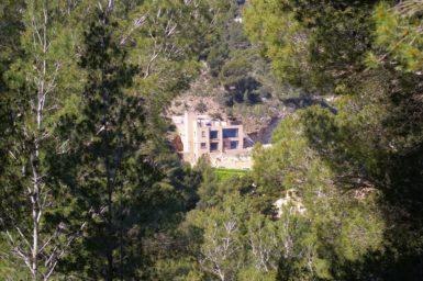 Ferienhaus in den Hügeln von Canyamel mit Meerblick