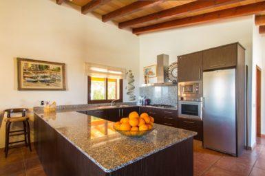 Küche Finca Bassanet