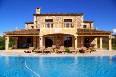 Finca Mallorca mit Blick auf Son Carrio