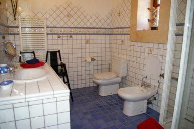 Bad im Erdgeschoss mit Dusche