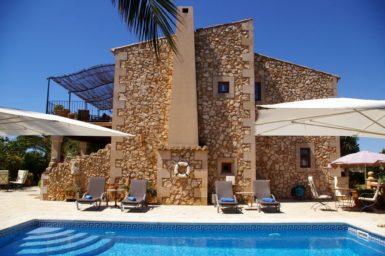 Finca für 10 Personen auf Mallorca
