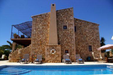 Naturstein Finca auf Mallorca