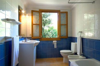 Finca Can Biel - Bad mit WC und Bidet