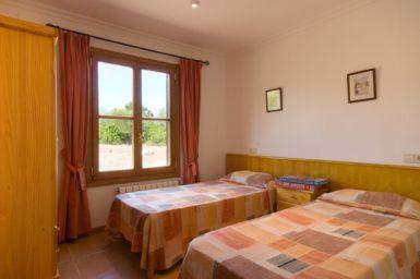 Finca Can Biel - Schlafzimmer mit 2 Einzelbetten