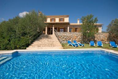 Finca Mallorca mit Pool 12 Personen