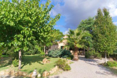 Finca Can Cristet - schöner Garten